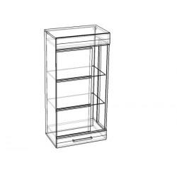 "Шкаф-витрина навесной 600 ""Олимп"""