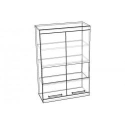 "Шкаф-витрина навесной 800 ""Ирис"""