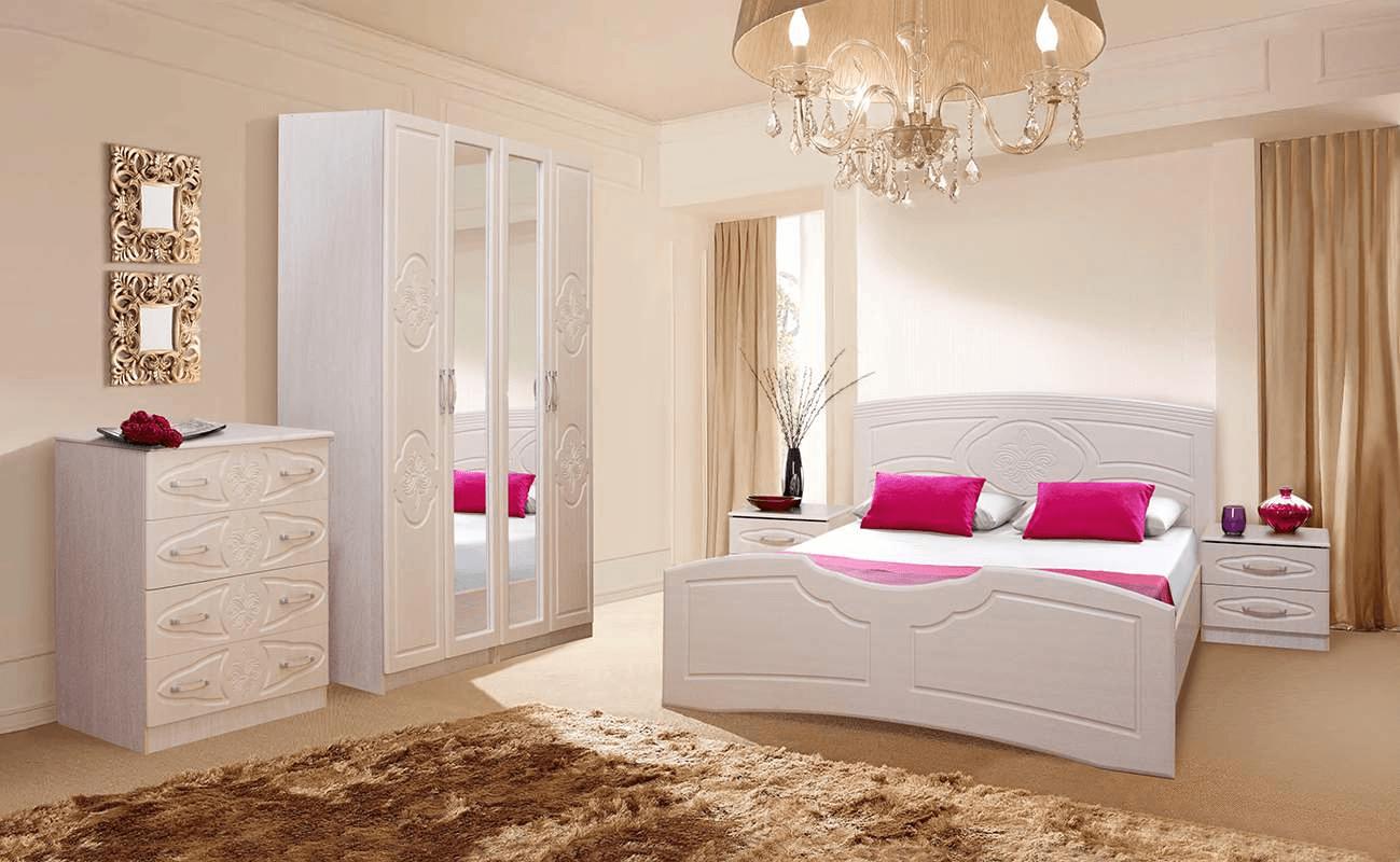 """Кровать 1.6 """"Лилия"""""""