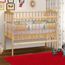 Кровать детская из массива с матрасом