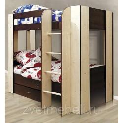 Кровать двухъярусная-2