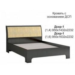 """Кровать """"ДСКР-1"""" (Джульетта)"""