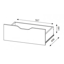 Ящик для кровати (Алекс 1)