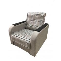 Кресло-кровать (с квадратными подлокотниками)