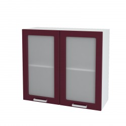 """Навесной шкаф 800 со стеклом """"Танго"""""""