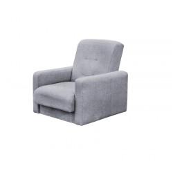 Кресло Лондон-2 рогожка серая
