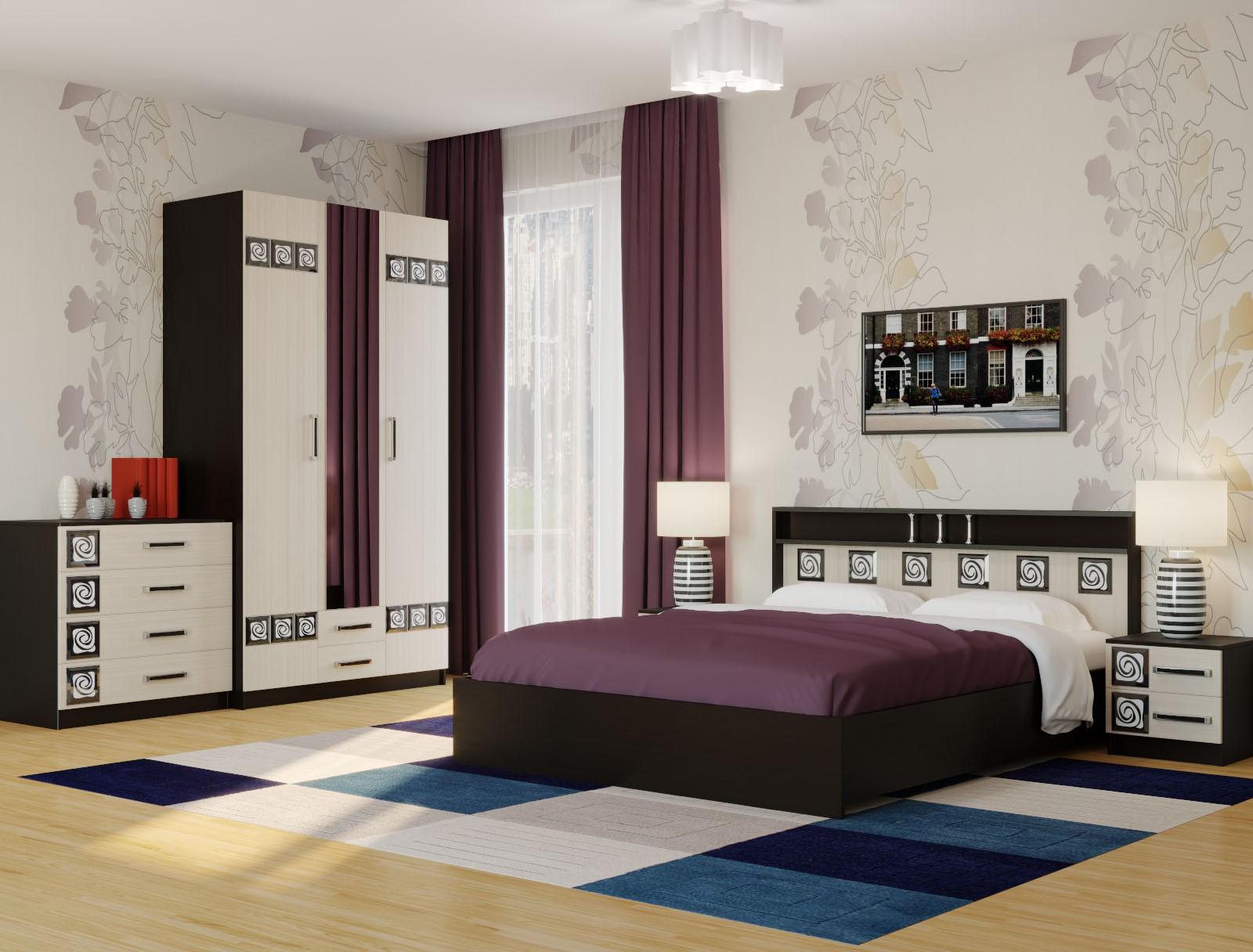 """Кровать 1.6 """"Бриз"""""""