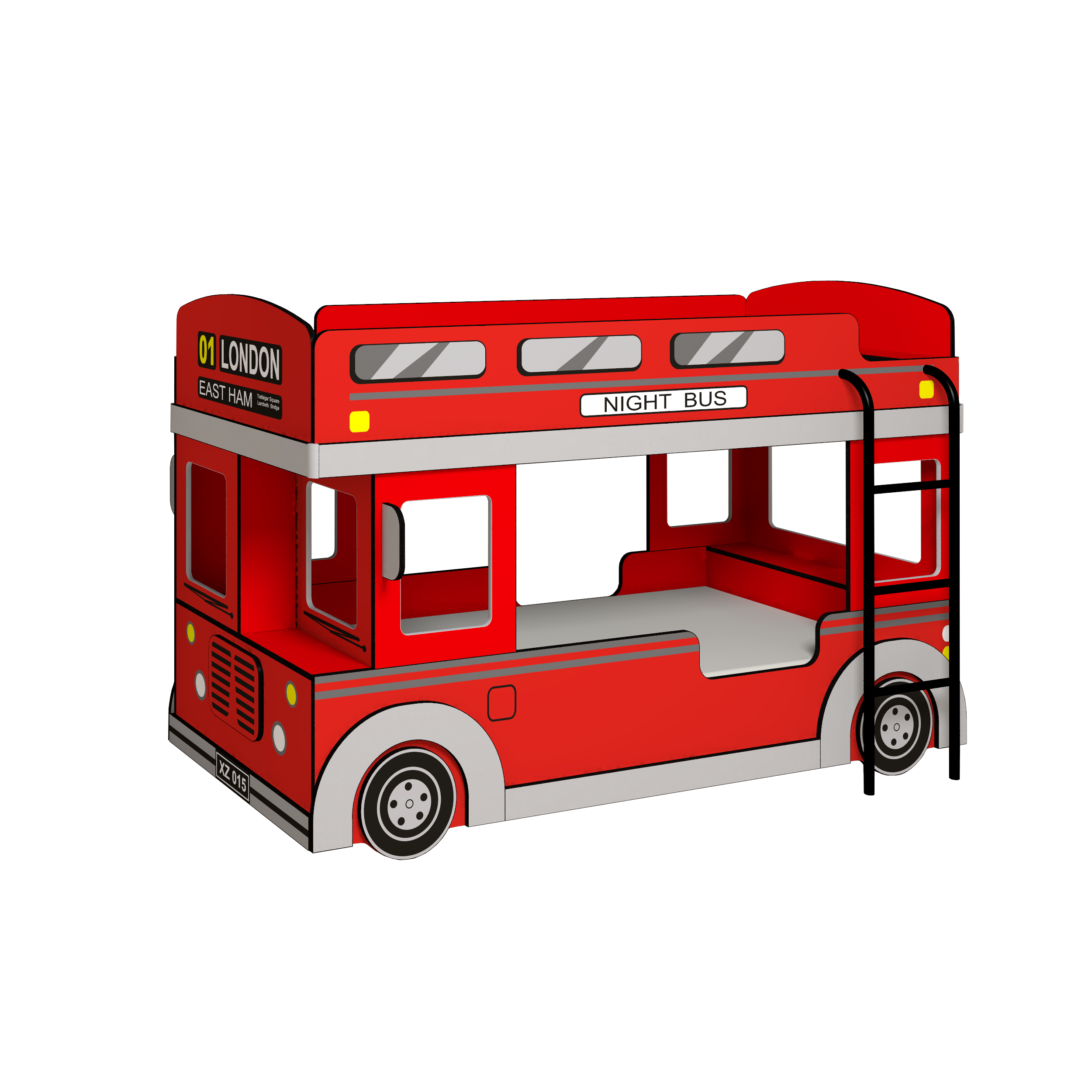 """Кровать 1 """"Автобус"""""""