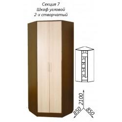 Шкаф угловой 2-х ств. (Диана 4)