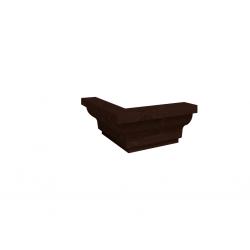 "Уголок 1 ""MONTPELLIER"" Орех шоколадный"