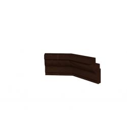 "Уголок 2 ""MONTPELLIER"" Орех шоколадный"