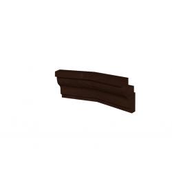 "Уголок 3 ""MONTPELLIER"" Орех шоколадный"