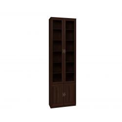 "Шкаф для книг 11 ""MONTPELLIER"" Орех шоколадный"
