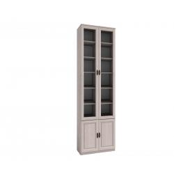 "Шкаф для книг 11 ""MONTPELLIER"" Дуб млечный"