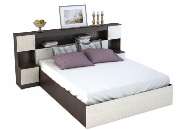 """Кровать """"1600 мм"""" + блок (Бася)"""