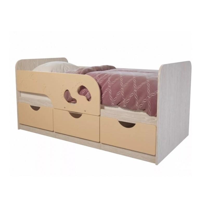 """Кровать детская """"Минима Лего"""" крем- брюле"""