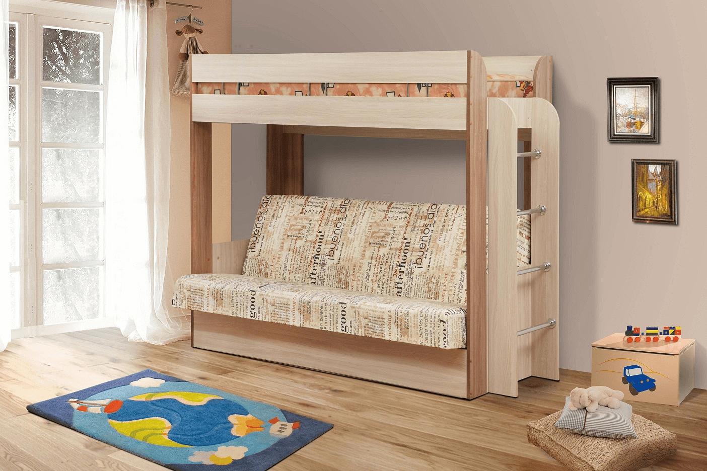 """Кровать двухъярусная """"Немо"""""""