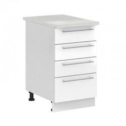 Шкаф нижний 500 (С 4 ящиками)