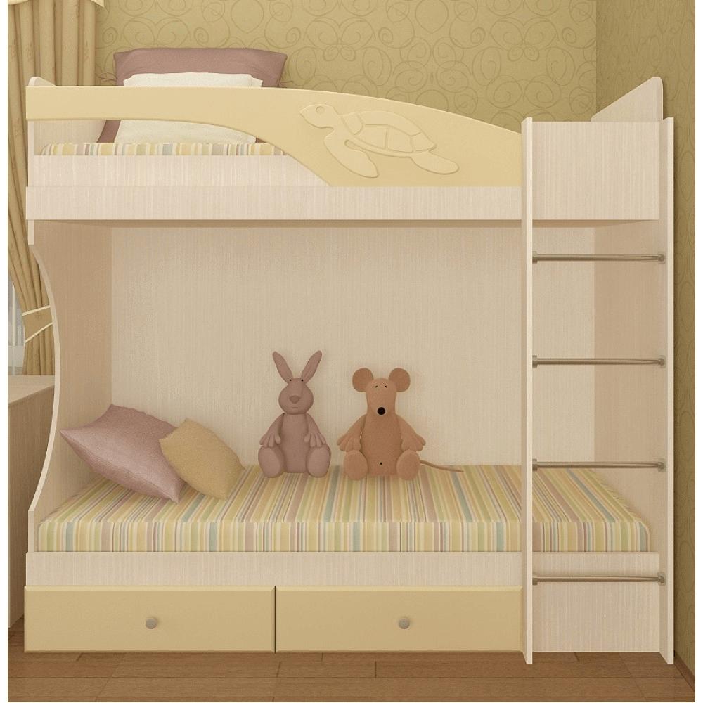 """Кровать двухъярусная """"Бемби"""""""