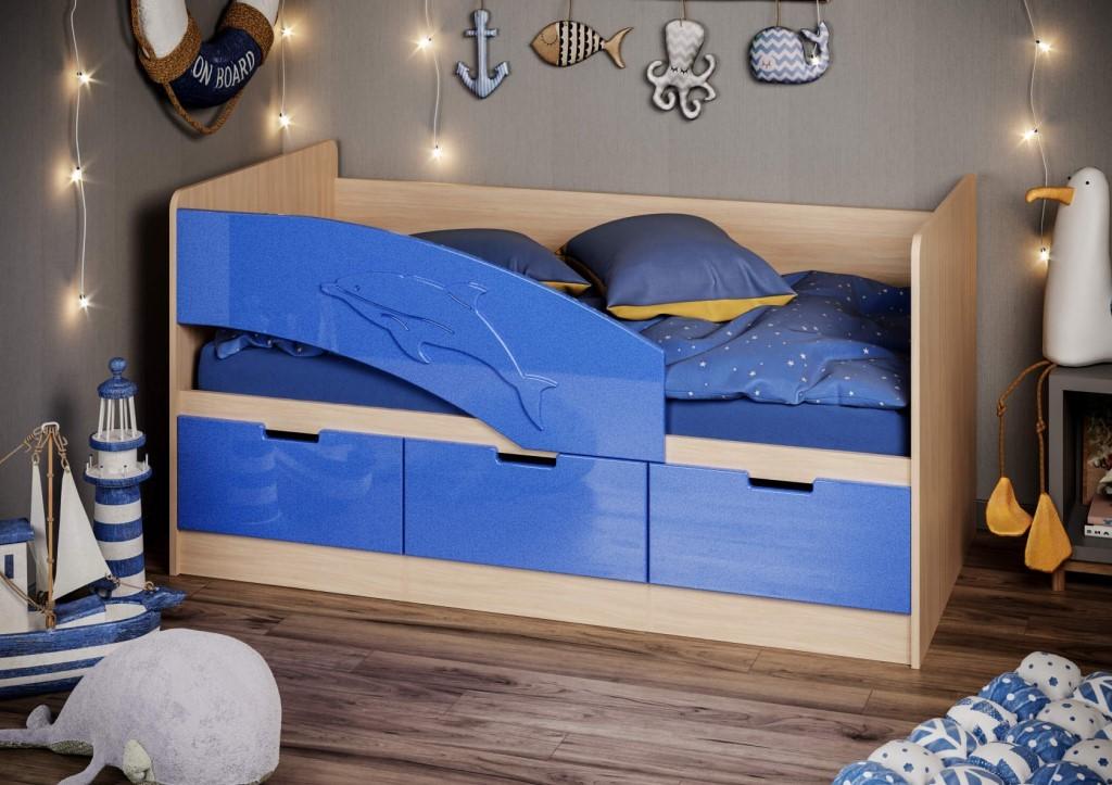 Кровать Дельфин-6 80*160
