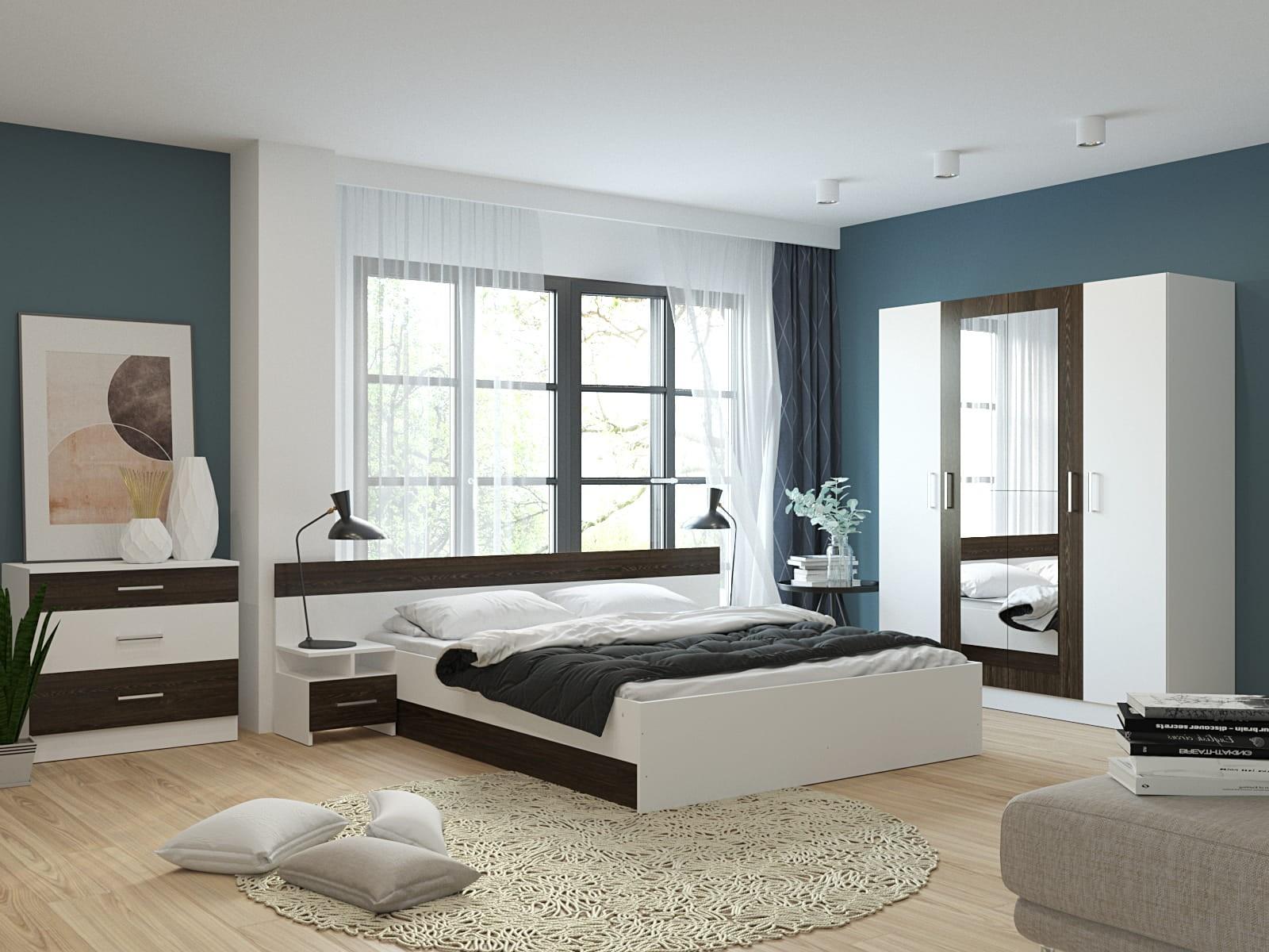 Модульная спальня Леси