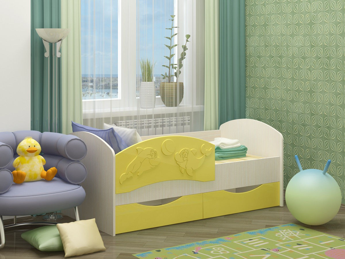 """Кровать """"Дельфин-3"""""""