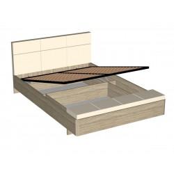 """Кровать """"Беата МПК"""" (1800) с банкеткой и пм"""