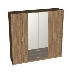 """Шкаф 6-дверный """"Беата"""" с ящиками"""