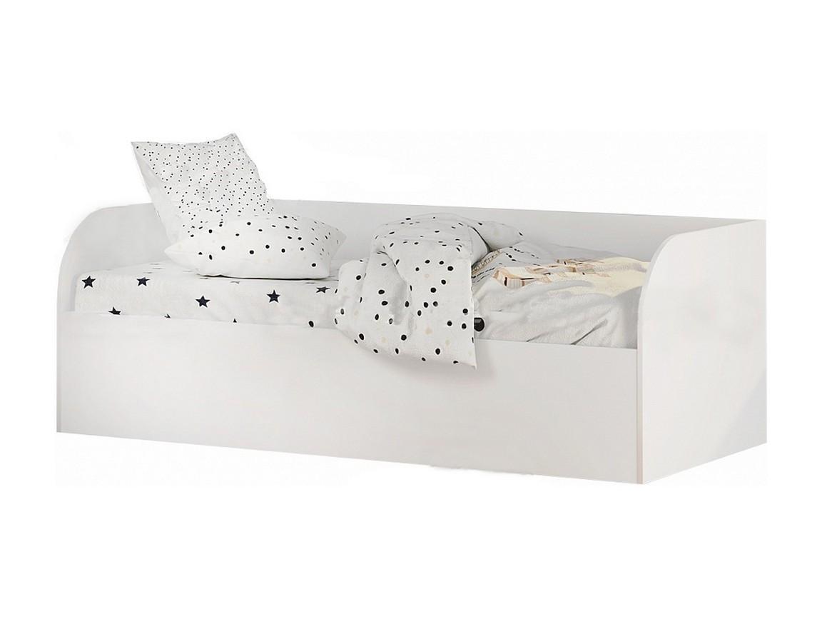 """Кровать детская КРП-01 """"Трио"""" белая"""