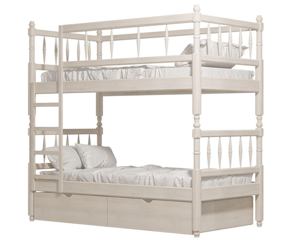 Кровать 2-х ярусная №2 из массива