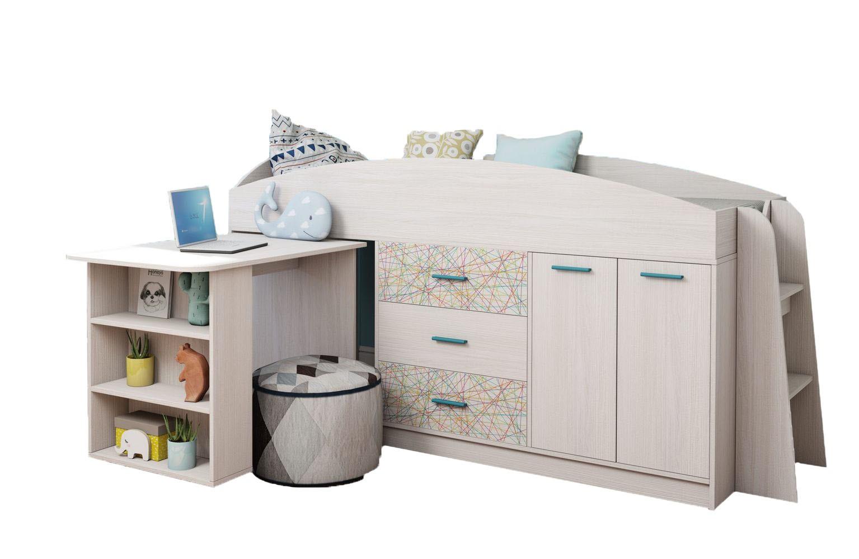 Кровать двухъярусная Каприз-11 (с рисунком)