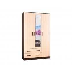 Шкаф комбинированный Лагуна с зеркалом