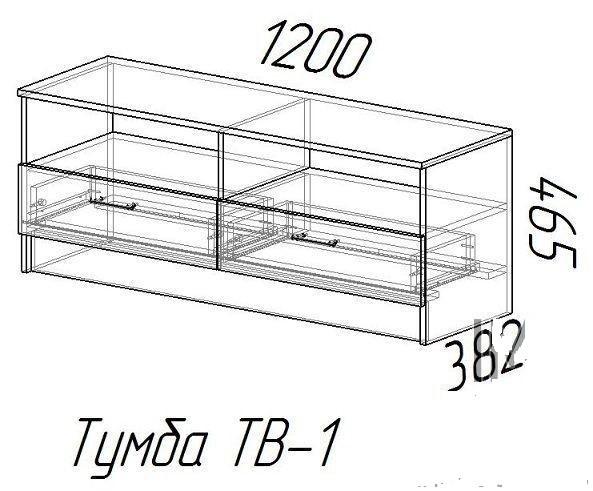 Тумба TV 1