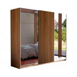 Шкаф-купе Прайм 3-дверный Зеркало/ДСП/Зеркало