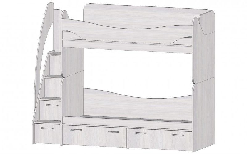 Кровать двухъярусная Ральф
