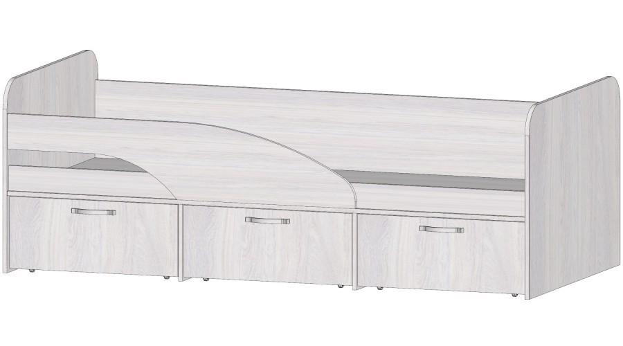 Кровать с ящиками Ральф