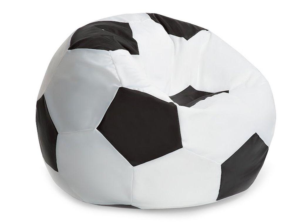 Кресло мяч  бело-чёрный