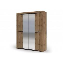 Шкаф 4-створчатый ШК 703 Паола