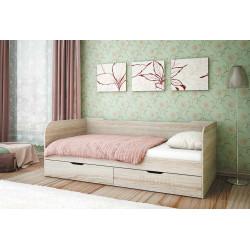 Кровать с ящиком (Пеликан)