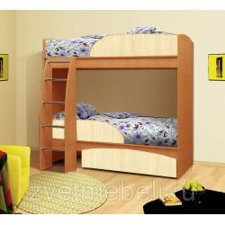Кровать двухъярусная Омега-4