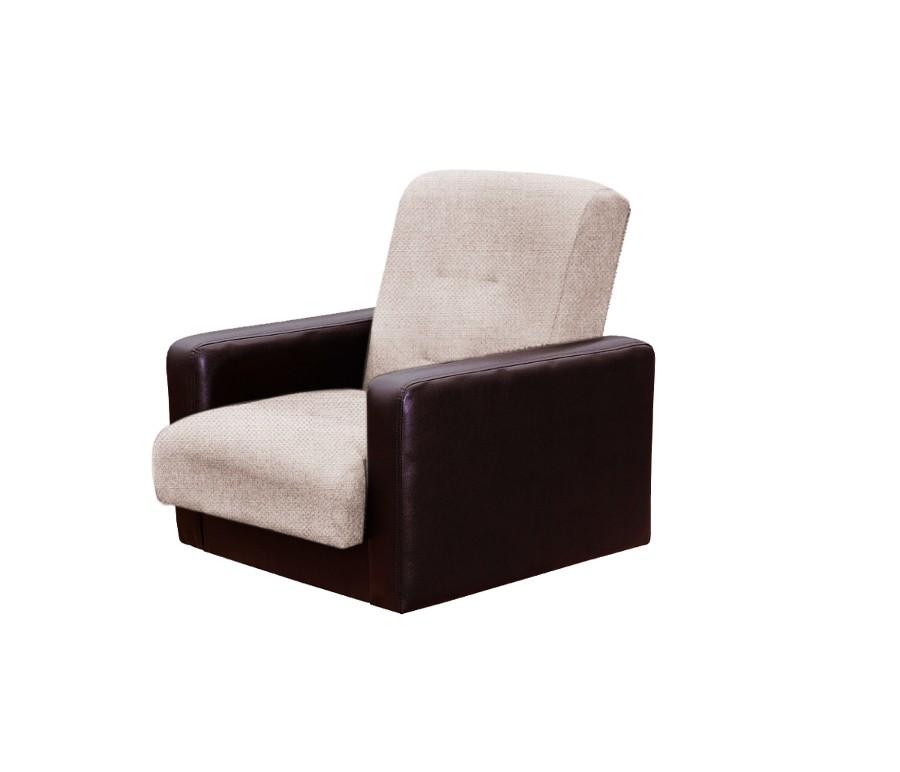 Кресло Лондон-2 рогожка микс бежевая