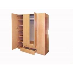 Шкаф 4х.дв. с ящиками