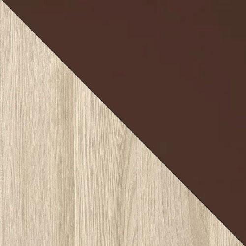 Ясень шимо светлый/Шоколад глянец